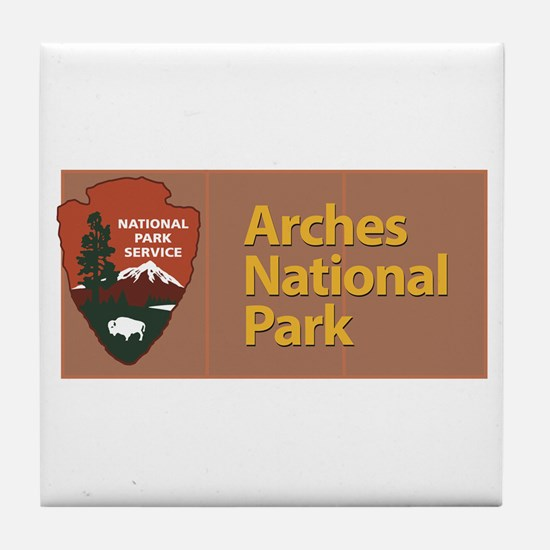 Arches National Park, Utah, Tile Coaster