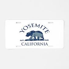 Cool Mariposas Aluminum License Plate