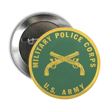 Military Police Corps <BR>Button 10 Pack