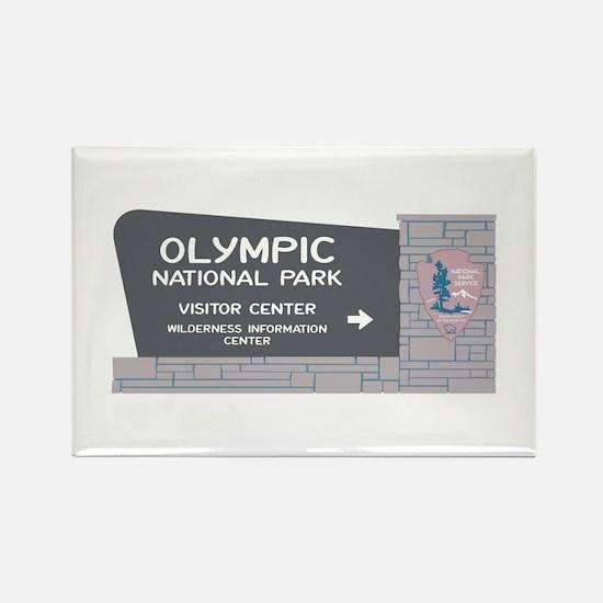Olympic National Park, Washington Rectangle Magnet