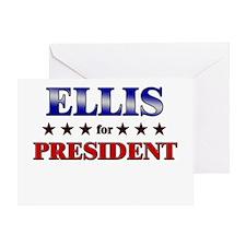 ELLIS for president Greeting Card