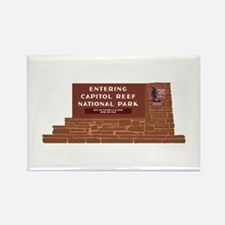 """""""Entering Capitol Reef National P Rectangle Magnet"""