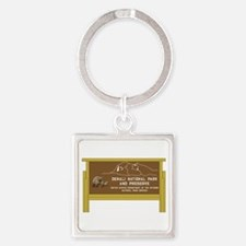 Denali National Park and Preserve, Square Keychain