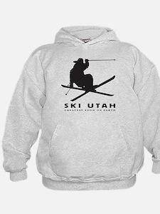 Cute Skiing snowboarding Hoodie