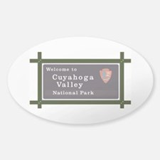 Cuyahoga Valley National Park, Ohio Sticker (Oval)