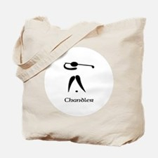 Team Golf Monogram Tote Bag