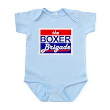 THE BOXER BRIGADE Infant Creeper