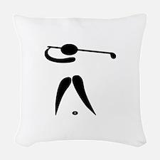 Team Golf Woven Throw Pillow
