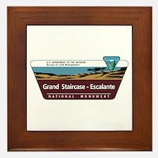 Grand Staircase-Escalante National Mon Framed Tile