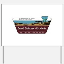 Grand Staircase-Escalante National Monum Yard Sign
