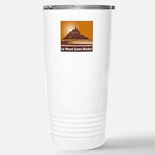 Mont Saint-Michel, Fran Stainless Steel Travel Mug
