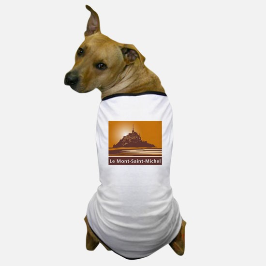 Mont Saint-Michel, France Dog T-Shirt