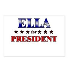 ELLA for president Postcards (Package of 8)
