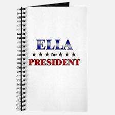 ELLA for president Journal