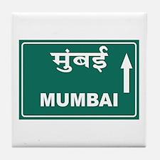 Mumbai (Bombay), India Tile Coaster