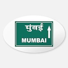 Mumbai (Bombay), India Sticker (Oval)
