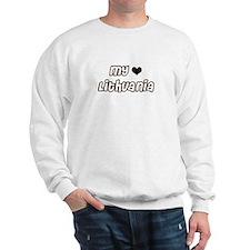 my Heart Lithuania Sweatshirt