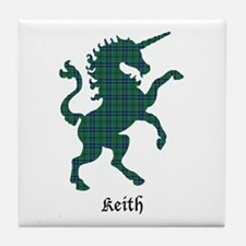 Unicorn - Keith Tile Coaster