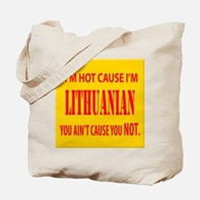 Hot Lithuanian Tote Bag