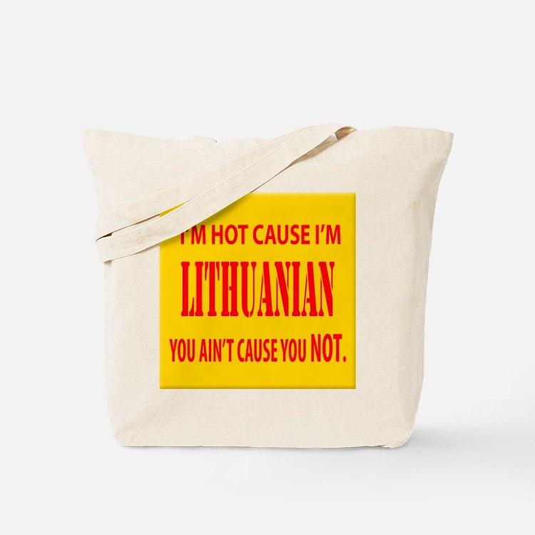 Hot Lithuanian Tote Bag