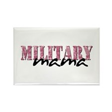 (Pink Camo) Rectangle Magnet