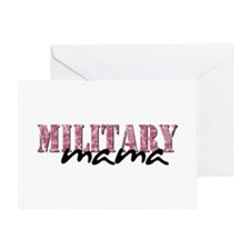 (Pink Camo) Greeting Card