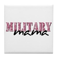 (Pink Camo) Tile Coaster