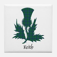 Thistle - Keith Tile Coaster