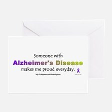 """""""Alzheimer Pride"""" Greeting Cards (Pk of 10)"""