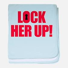Lock Her Up baby blanket