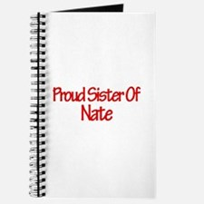 Proud Sister of Nate Journal