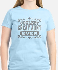 Coolest Great Aunt Ever T-Shirt