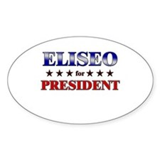 ELISEO for president Oval Decal