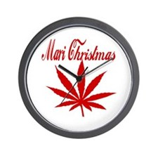 Mari Christmas Wall Clock