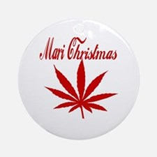 Mari Christmas Ornament (Round)