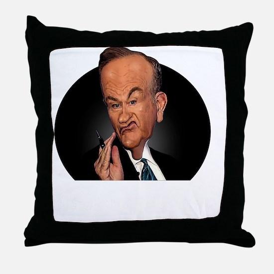 Funny News Throw Pillow