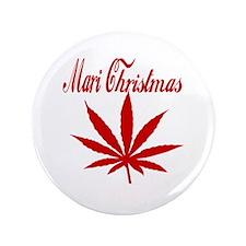 "Mari Christmas 3.5"" Button (100 pack)"