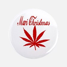 "Mari Christmas 3.5"" Button (100 pack)"