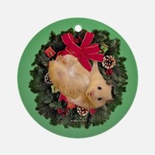 Hamster Ornament (Round)