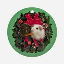Guinea Pigs Ornament (Round)