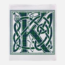 Monogram - Keith Throw Blanket