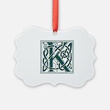 Monogram - Keith Ornament