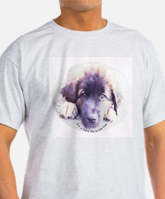 Leonberger Ash Grey T-Shirt