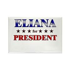 ELIANA for president Rectangle Magnet