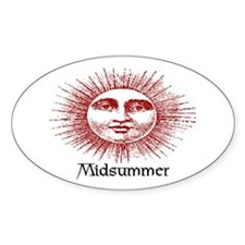 MIDSUMMER Oval Decal