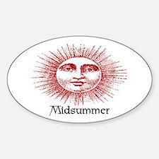 MIDSUMMER Oval Decal