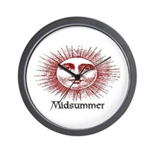 MIDSUMMER Wall Clock
