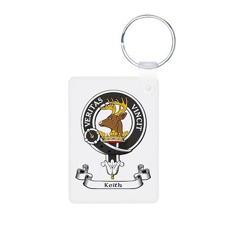 Badge - Keith Aluminum Photo Keychain