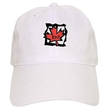 Canadian Maple Leaf Eh? Baseball Cap