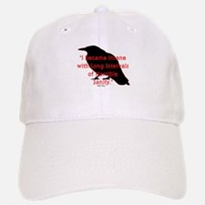 POE QUOTE Baseball Baseball Cap